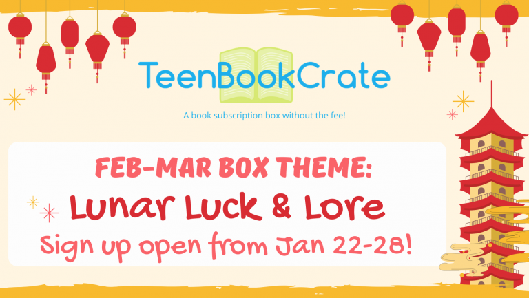 TeenBookCrate Feb-Mar 2021 FB Event Cover SignUp Open
