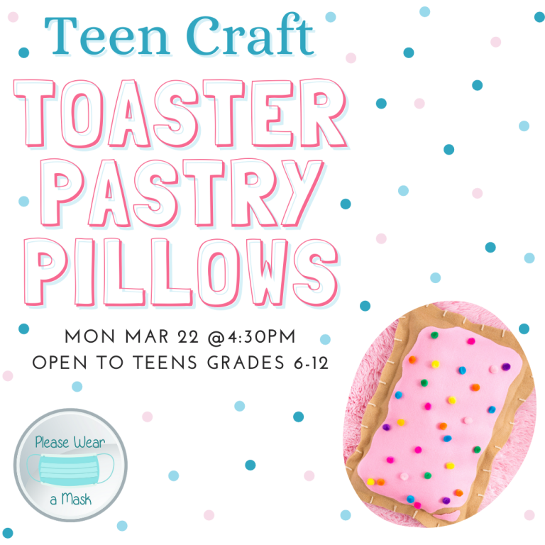 March 2021 Toaster Pastry Pillows