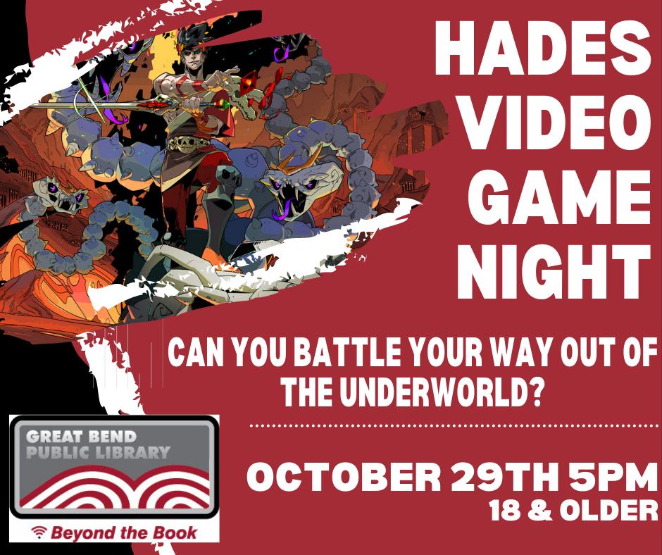Hades Video Game Night