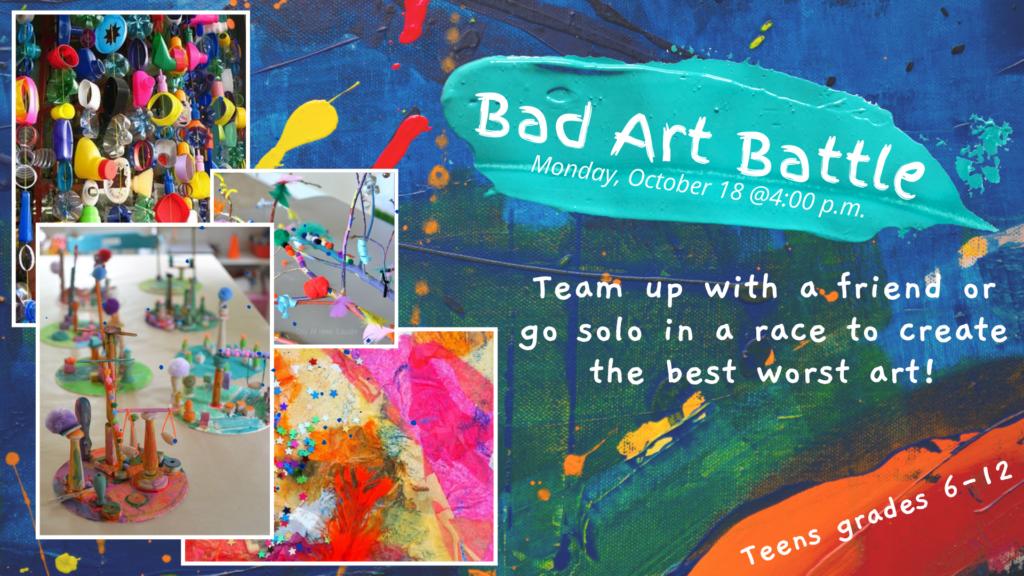 Fall 2021 Bad Art Battle